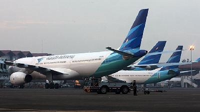 Coronavirus Fears; Garuda Indonesia Steps Up Sterilizing Measures
