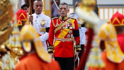 Thailand Collects Sacred Waters for King's Coronation Rituals