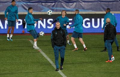 Final Liga Champions, Zidane: Real Madrid Bukan Favorit
