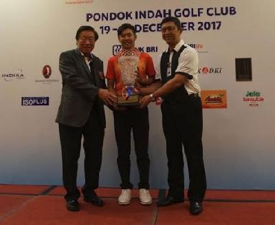 Asian Games 2018: Uji Coba Golf, Jonathan Juara di BRI Junior