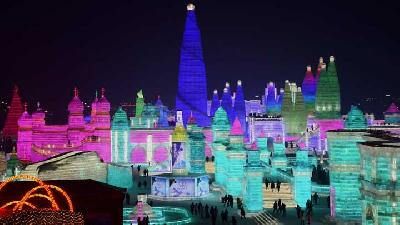 Menikmati Sensasi Keindahan Harbin International Ice Festival
