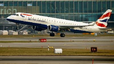 Kena Kejahatan Siber, Data Penumpang British Airways Dicuri