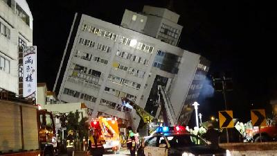 Earthquake Hits Taiwan; Schools Evacuated, Subway Services Halted