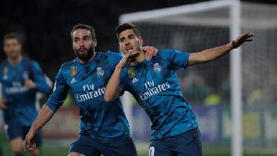 Liga Spanyol : Real Madrid Hajar Real Betis 5-3
