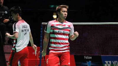 Piala Thomas: Juara All England Kalah, Indonesia-Thailand 1-1