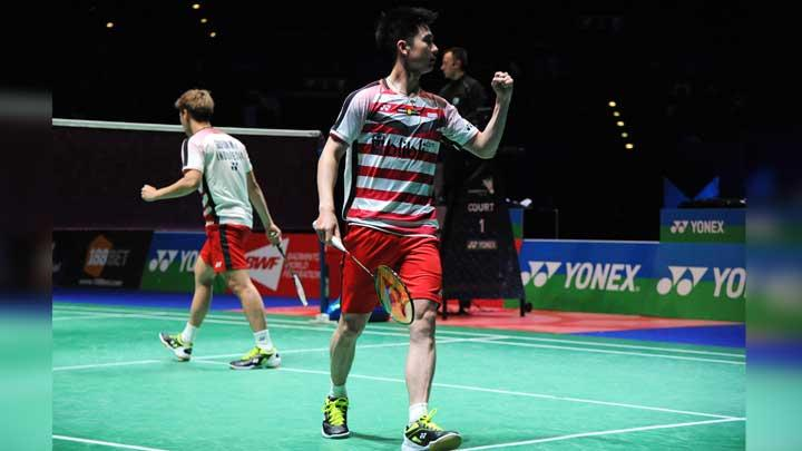Marcus/Kevin Juara All England 2018, Pelatih: Mereka Fighter
