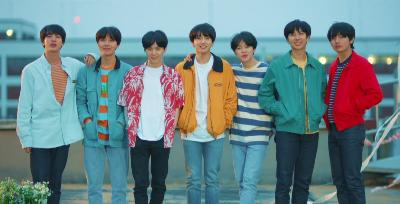BTS Diganjar BBC Radio 1 Teen Awards