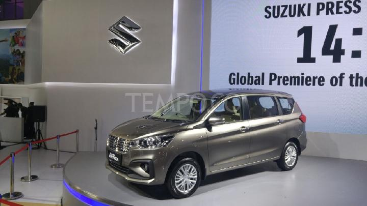 All New Suzuki Ertiga world premiere di IIMS 2018. 19 April 2018. Tempo/Wisnu Andebar