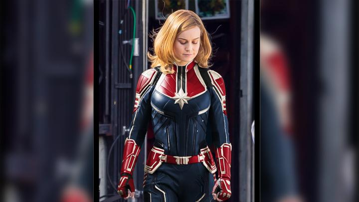 Captain Marvel. twitter.com