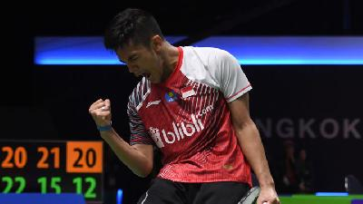 Indonesia Maju ke Perempat Final Piala Thomas 2018