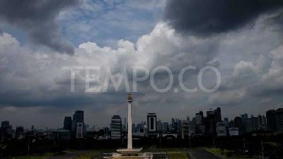 BMKG: Rain in Almost All Jakarta Areas on Wednesday Afternoon