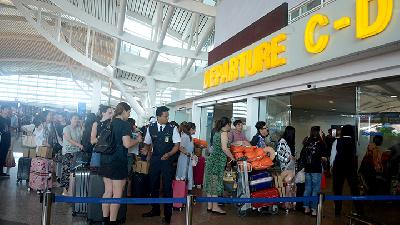 Arrival of Foreign Tourists at Bali Airport Increases
