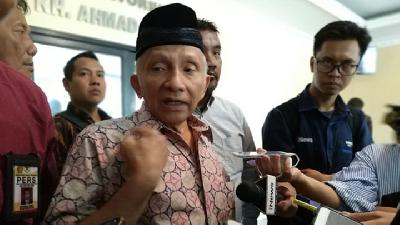 Amien Rais Rejects Vote Recapitulation at Satan-infested Hotel