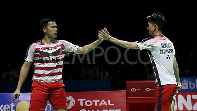 AG 2018: Marcus / Kevin Menang, Indonesia Vs India 2-0