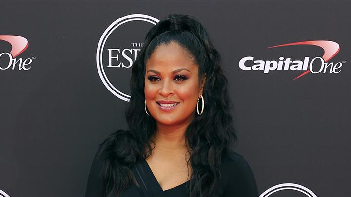 Petinju Laila Ali berpose di karpet merah ESPY Awards di Los Angeles, Rabu, 18 Juli 2018. AP/Willy Sanjuan
