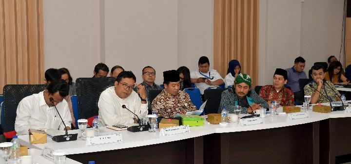 A focus group discussion (FGD) at the Indonesian Broadcasting Commission (KPI). TEMPO