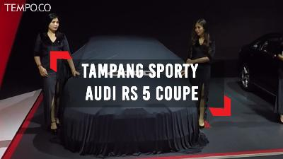 Melihat Tampang Sporty Audi RS 5 Coupe di GIIAS 2018