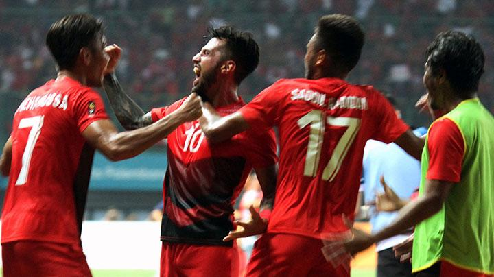 Sepak Bola Asian Games: Indonesia Bantai Taiwan 4-0