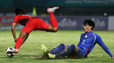 Asian Games: Dibantai Indonesia 4-0, Taiwan Mengaku Kelelahan
