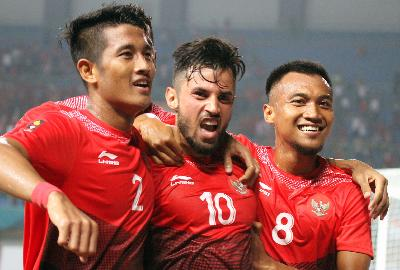 Klasemen Asian Games 2018: Timnas U-23 Indonesia Vs Laos 3-0