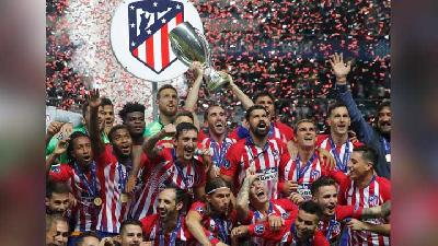 Bungkam Real Madrid, Atletico Madrid Menangi Piala Super Eropa