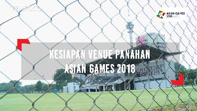 Kesiapan Venue Panahan Asian Games 2018
