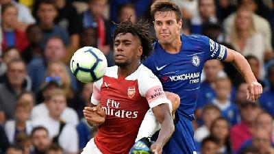 Arsenal Vs Chelsea, Tantangan Konsistensi Dua Tim London