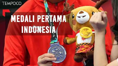 Asian Games 2018: Edgar Xavier Sumbang Medali Pertama Indonesia