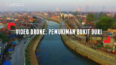 Video Drone: Pemukiman Bukit Duri