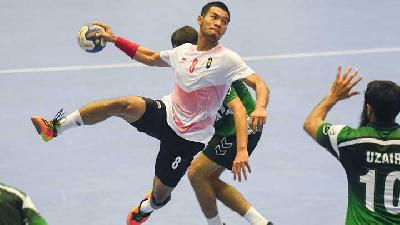 Asian Games 2018 : Pakistan Tumbangkan Tim Bola Tangan Indonesia