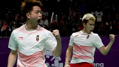 Bulu Tangkis Beregu Putra Indonesia Maju ke Final Asian Games