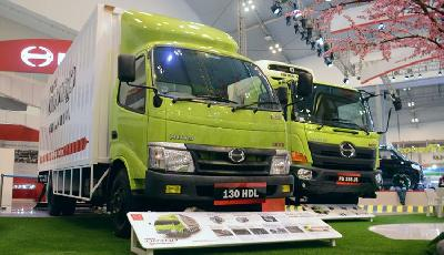 Penjualan Hino Januari-April 2019 10.528 Unit, Truk Ranger Laris