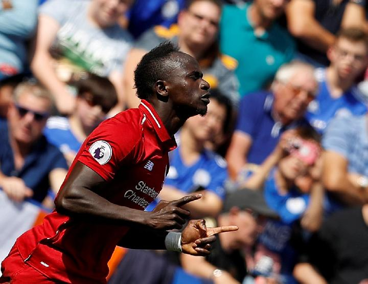 Pemain Liverpool Sadio Mane. REUTERS/Darren Staples