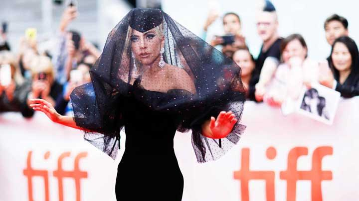 Gaya Lady Gaga Saat Hadiri Toronto International Film Festival
