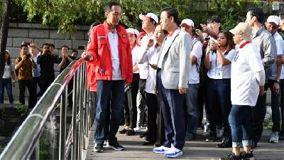 Beri Kuliah Umum di Universitas Hankuk, Jokowi Bicara Asian Games