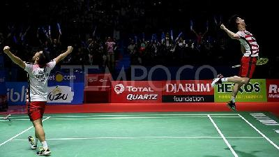 Final Hong Kong Open: Head-to-Head Kevin/Marcus Vs Kamura/Sonoda