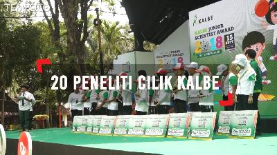 Peneliti Cilik Kalbe Junior Scientist Award 2018