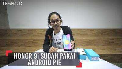 Review Honor 9i, Sudah Pakai Android Pie