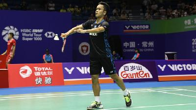 China Open 2018: Anthony Sinisuka Ginting Maju ke Semifinal