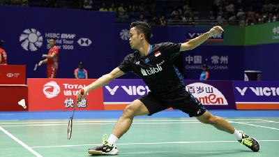 BWF World Tour Finals: Kalah Lagi, Anthony Ginting Pasti Kandas