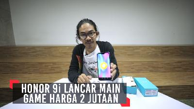 Review Honor 9i, Lancar Main Game Harga 2 Jutaan