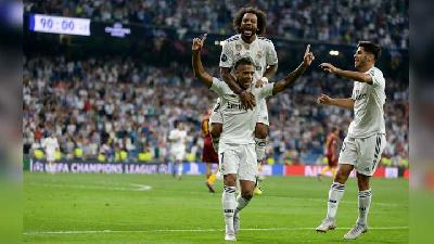 Liga Champions: Real Madrid Hajar AS Roma 3-0