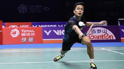 BWF World Tour Finals Hari Ini: Anthony Ginting Vs Chou Tien Chen