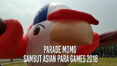 Parade Momo Sambut Asian Para Games 2018