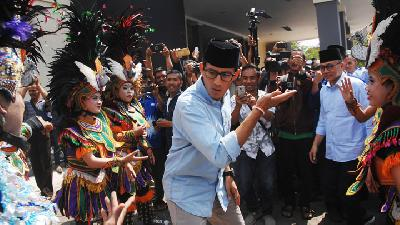 Sandiaga: Bukan Game of Thrones, Film Nabi Yusuf Lebih Releva   n