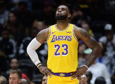 Hasil Basket NBA: LA Lakers Kalahkan Boston Celtics 114-112