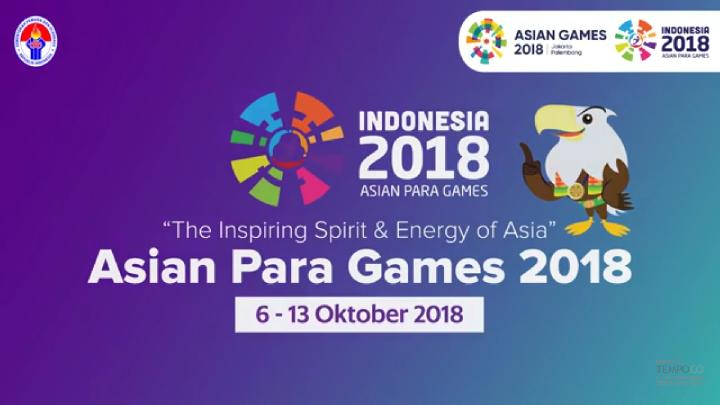 Asian Para Games 2018.