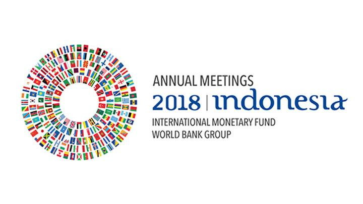 Logo Annual Meetings IMF-World Bank Group 2018. am2018bali.go.id