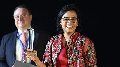 Sri Mulyani Raih Gelar The Finance Minister of The Year