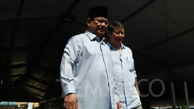 Brother of Prabowo Recalls Funding Jokowi`s 12 Campaign Effort